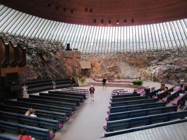Interior da Igreja da Pedra