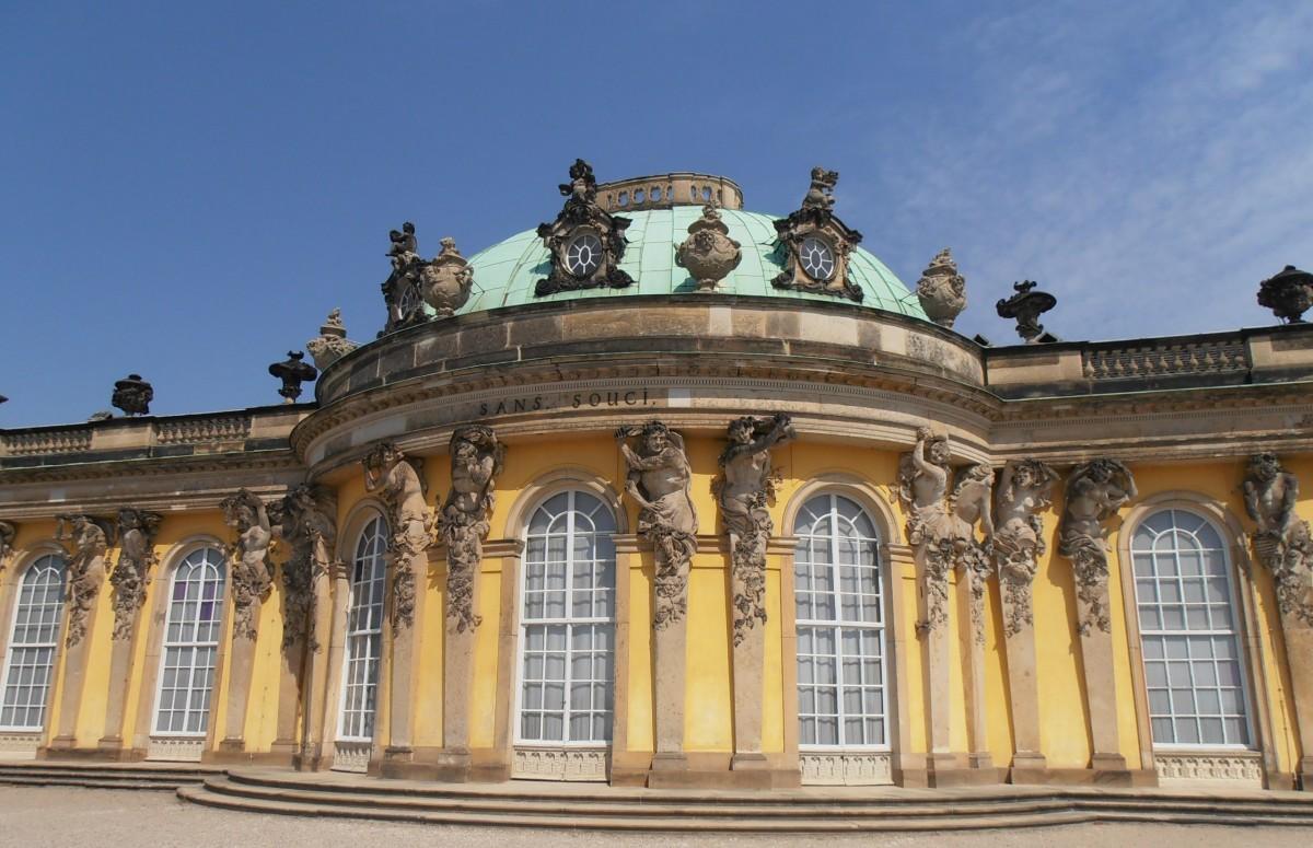 O Parque de Sanssouci - entre palácios e jardins