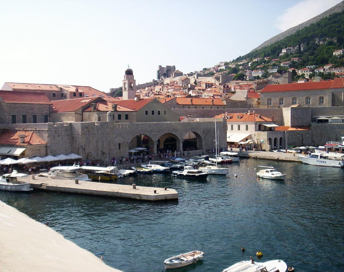 Dubrovnik - de frente para o Adriático