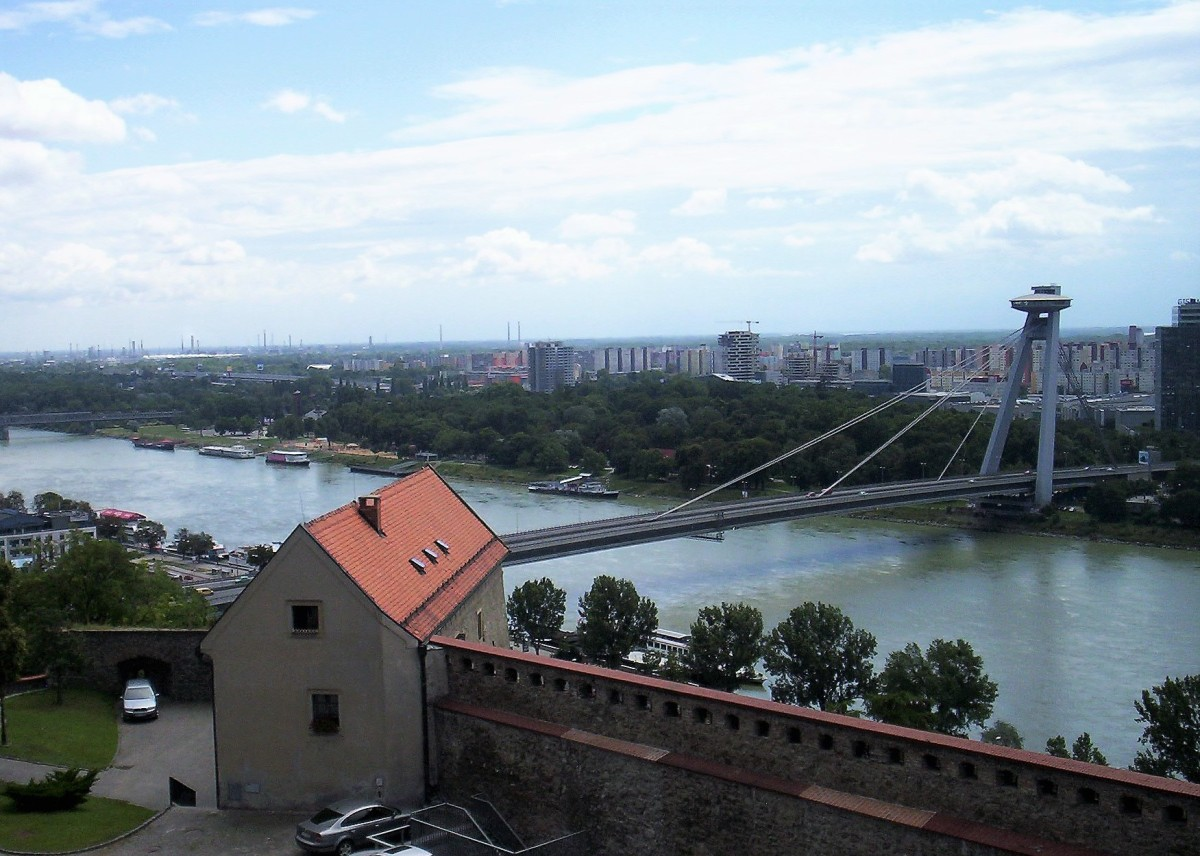 Um passeio por Bratislava