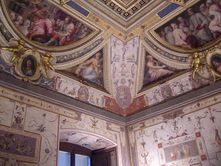 Palácio Vecchio_Promenores do interior