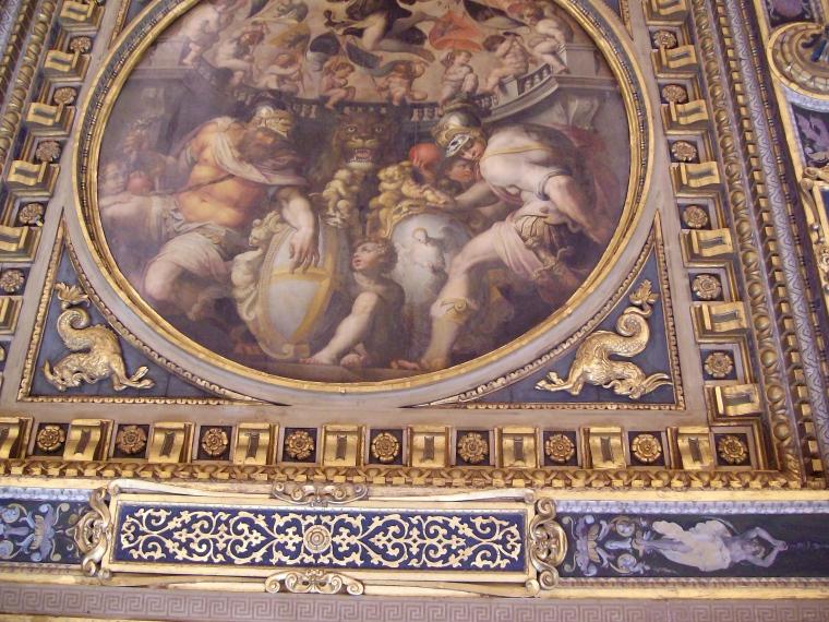 Palácio Vecchio_Promenores do tecto