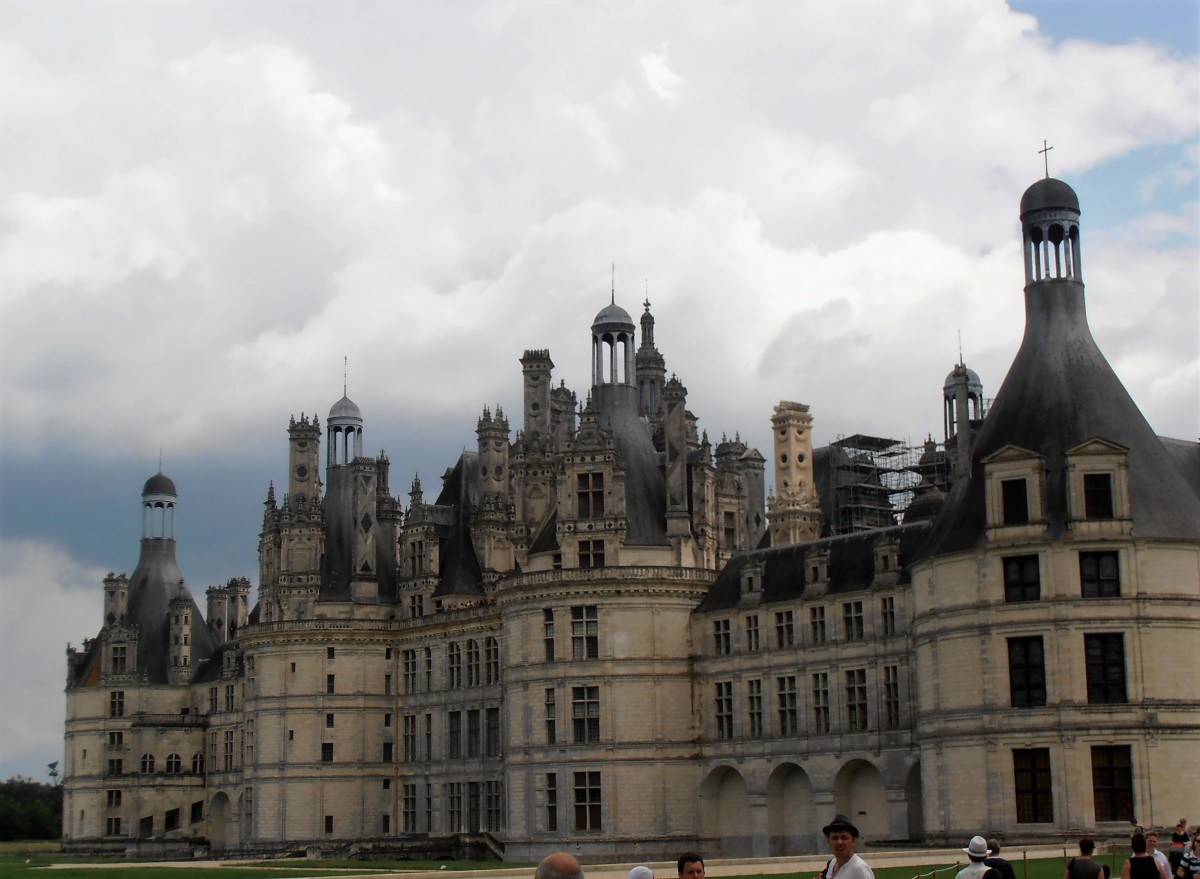 Chambord - o maior castelo do Loire