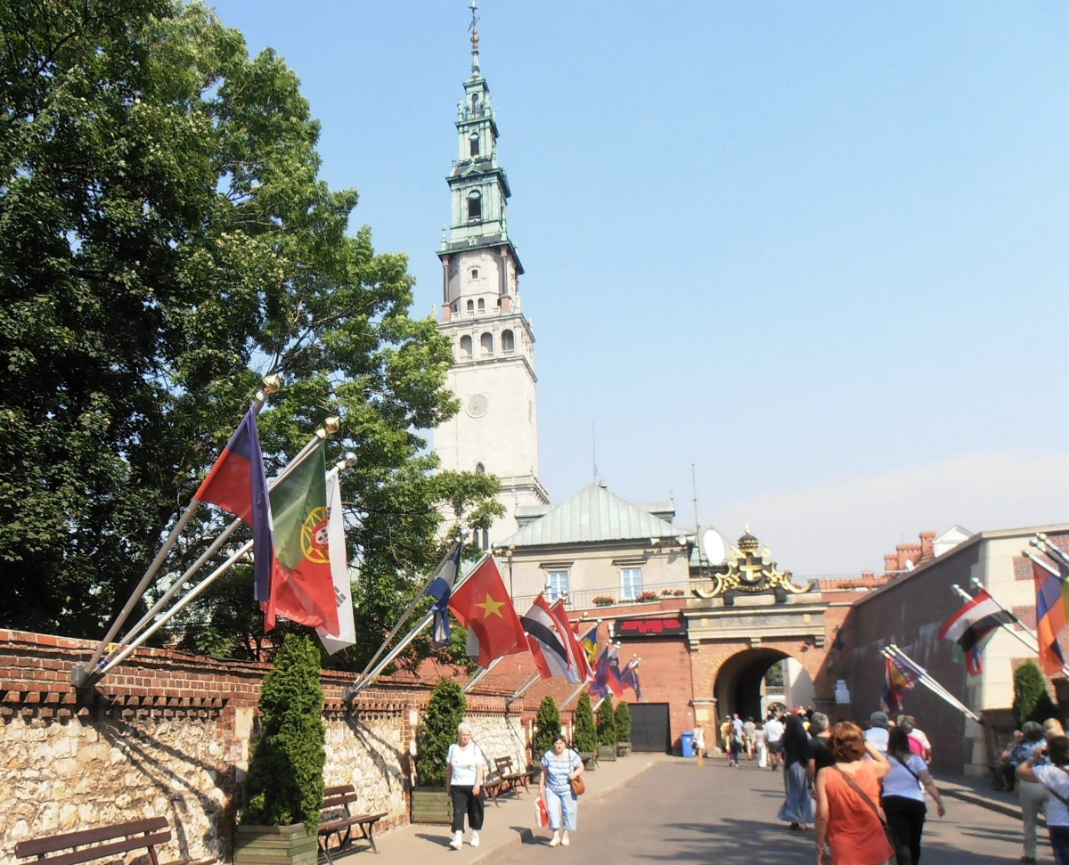 Santuário de Czestochowa - o maior centro de peregrinações da Polónia